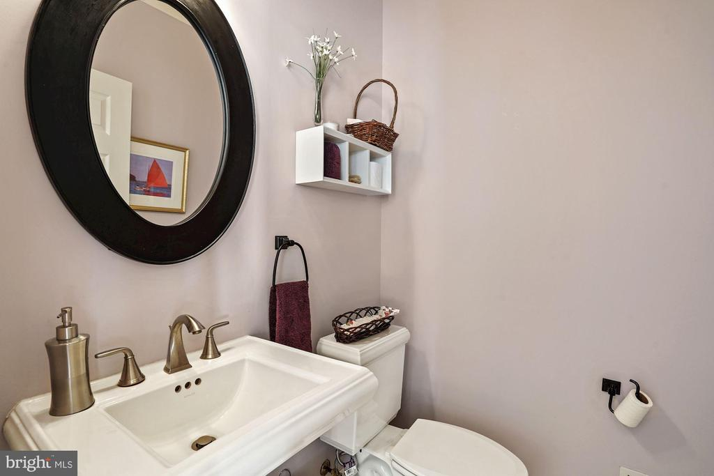 Powder room by the entrance (4.5 baths total) - 10104 FARR OAK PL, FAIRFAX