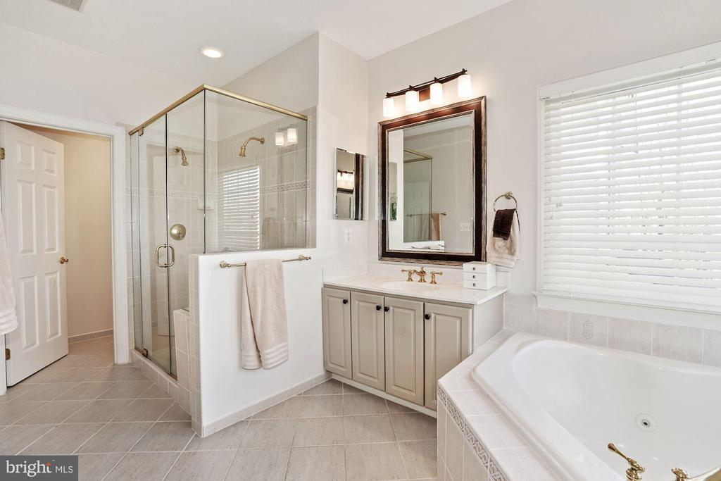 Separate shower & tub - 10104 FARR OAK PL, FAIRFAX