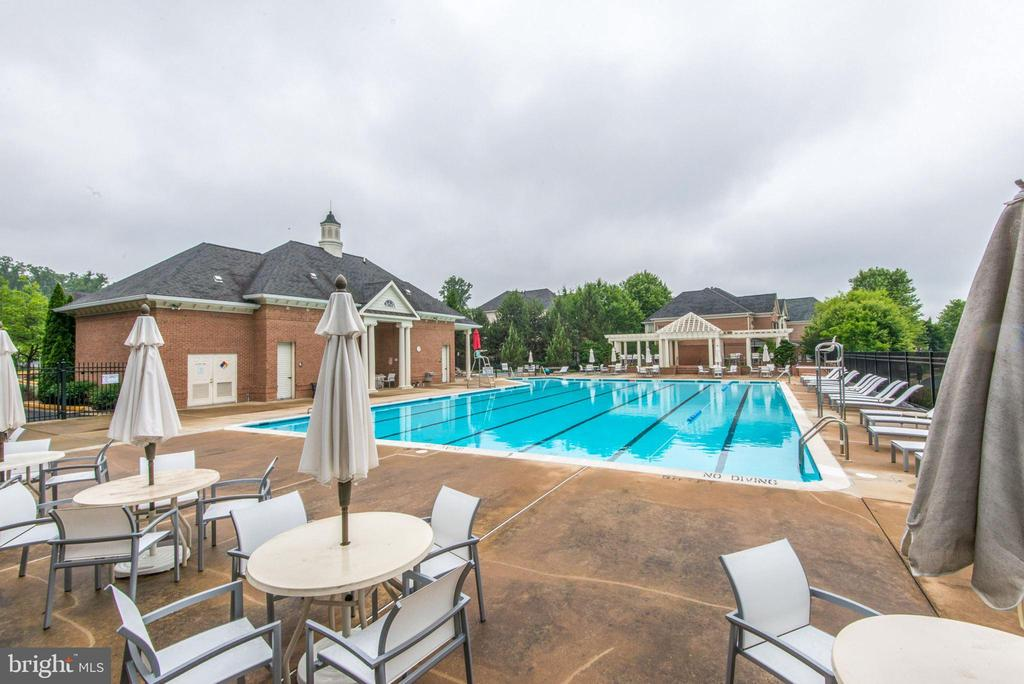 Community pool - 10104 FARR OAK PL, FAIRFAX