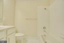 Guest/Upstairs Hall Bathroom - 46673 JOUBERT TER, STERLING