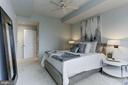 Owner's suite offers ceiling fan and ample closets - 2425 L ST NW #203, WASHINGTON