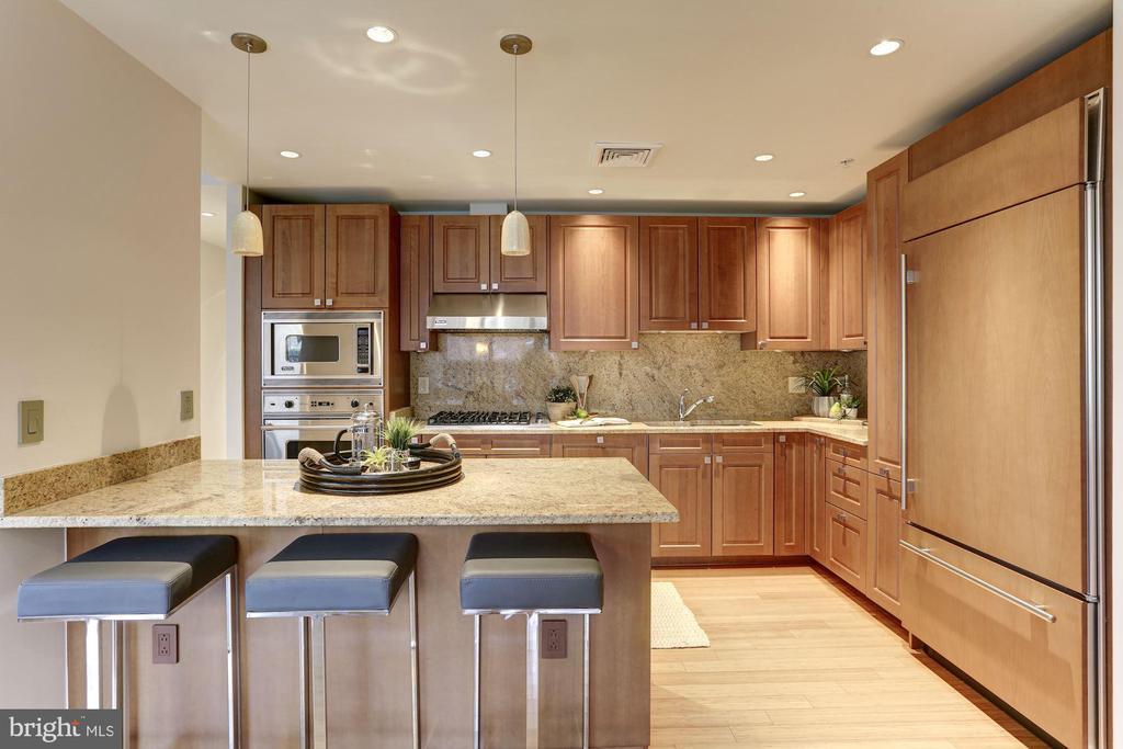 Gourmet kitchen with Viking appliances - 2425 L ST NW #203, WASHINGTON