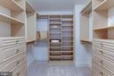 Custom walk-in closet - 2425 L ST NW #203, WASHINGTON