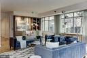 Modern custom built-ins and feature art walls - 2425 L ST NW #203, WASHINGTON
