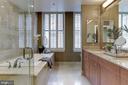 Double vanity owner's bath - 2425 L ST NW #203, WASHINGTON