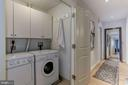 In-unit laundry and storage - 2425 L ST NW #203, WASHINGTON