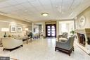 Inviting lobby with 24-hour concierge - 2425 L ST NW #203, WASHINGTON