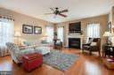 Living Room - 18 BASKET CT, STAFFORD
