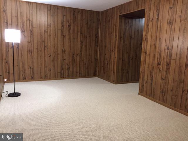 Finished basement Family room New carpet - 2550-B S ARLINGTON MILL DR #B, ARLINGTON