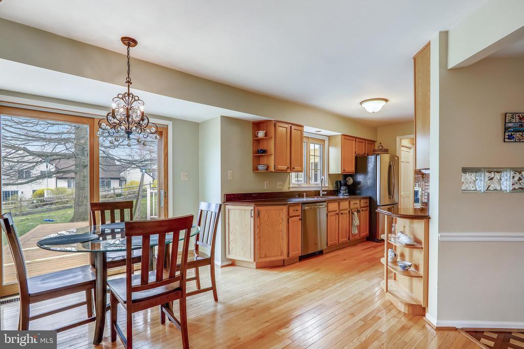 Kitchen/Breakfast room - 7108 NEEDWOOD RD, DERWOOD