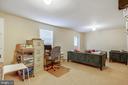 Basement bedroom/rec room - 7108 NEEDWOOD RD, DERWOOD