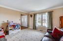Living room - 7108 NEEDWOOD RD, DERWOOD