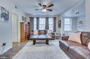 Living Room - 1909 N RHODES ST #21, ARLINGTON