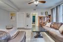 Spacious Living Area - 1909 N RHODES ST #21, ARLINGTON