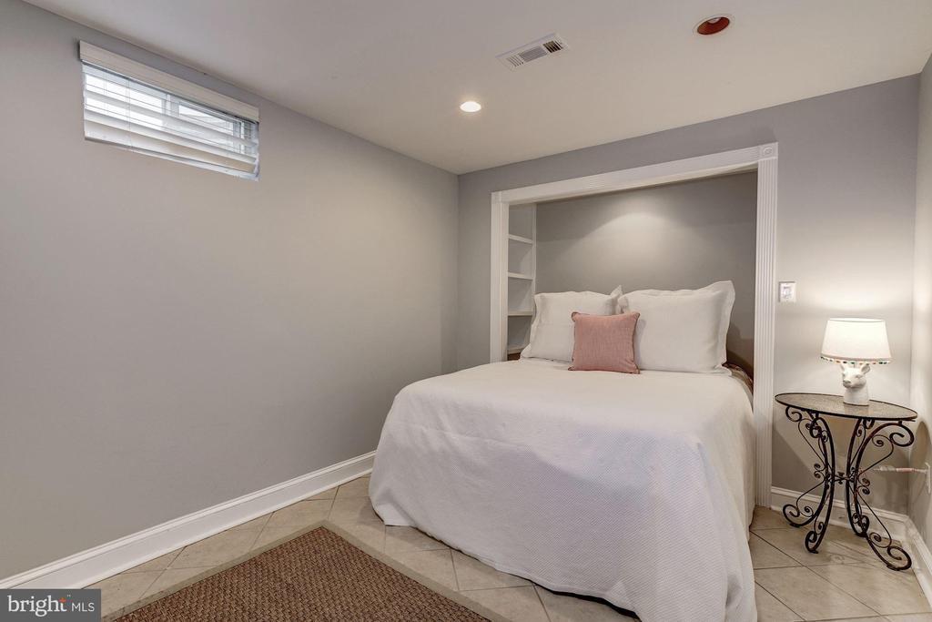 Lower Level Bedroom #5 - 3315 O ST NW, WASHINGTON