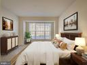 Staged Bedroom 2 - 43370 TOWN GATE SQ, CHANTILLY