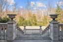 Veranda and Cascading Classical Stair - 896 ALVERMAR RIDGE DR, MCLEAN