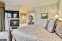 Lux Master Suite w/ 2-sided Fireplace - 896 ALVERMAR RIDGE DR, MCLEAN
