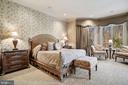 Main Level Master Bedroom Suite & Reading/Sitting - 896 ALVERMAR RIDGE DR, MCLEAN