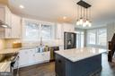 Gourmet kitchen w SS appliances - 6720 ACCIPITER DR, NEW MARKET