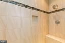 Huge 2 person shower w custom tile - 6720 ACCIPITER DR, NEW MARKET