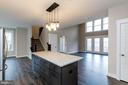 Huge Island w granite counters. - 6720 ACCIPITER DR, NEW MARKET