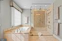 Shower is a work of art in every detail - 6271 KINGFISHER LN, ALEXANDRIA