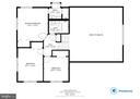 Floor Plan of Upper Level- Bedroom level - 10822 CHARLES DR, FAIRFAX