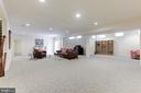 Spacious Lower Level - 27651 EQUINE CT, CHANTILLY