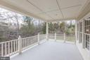 Rear Balcony - 27651 EQUINE CT, CHANTILLY