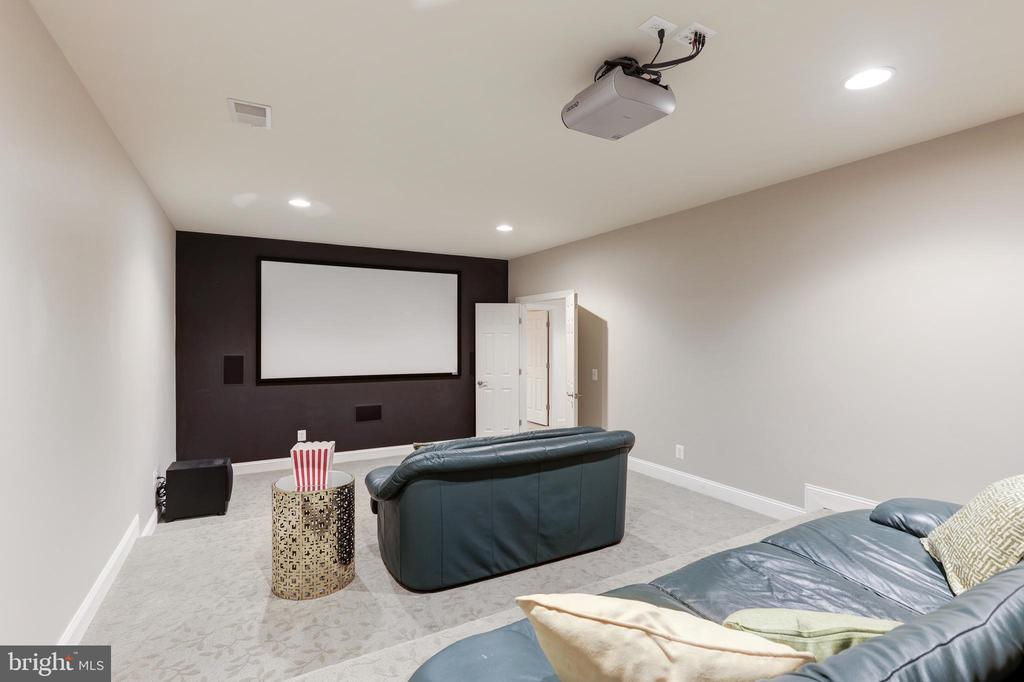 Home Theater - 27651 EQUINE CT, CHANTILLY