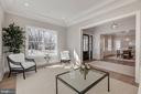 Lovely living room - 4909 FALSTONE AVE, CHEVY CHASE