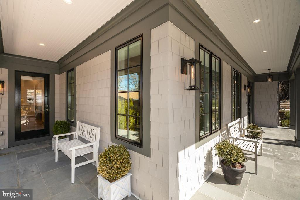 Wonderful front wrap-around porch - 4909 FALSTONE AVE, CHEVY CHASE