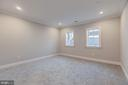 Lower level Au pair/Guest bedroom w/adjacent bath - 4909 FALSTONE AVE, CHEVY CHASE