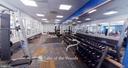 Fitness center. - 327 BIRCHSIDE CIR, LOCUST GROVE