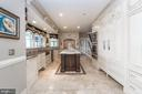 Fine cabinetry, Marble floors,  Tile back splash - 10810 PERRIN CIR, SPOTSYLVANIA