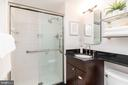 Attached bathroom for master suite #1 - 2801 NEW MEXICO AVE NW #1122, WASHINGTON
