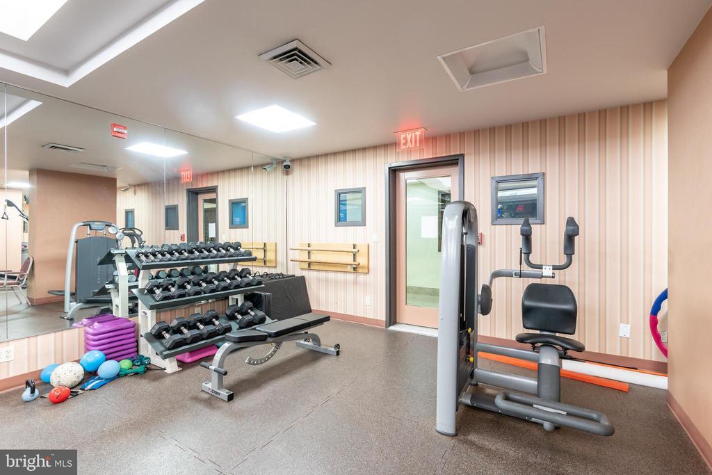 Fitness center - 2801 NEW MEXICO AVE NW #1122, WASHINGTON