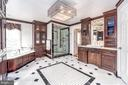Marble Floors and Tile in Spectacular Master Bath - 10810 PERRIN CIR, SPOTSYLVANIA