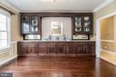Custom Built-ins in Formal Dining Room. - 10810 PERRIN CIR, SPOTSYLVANIA