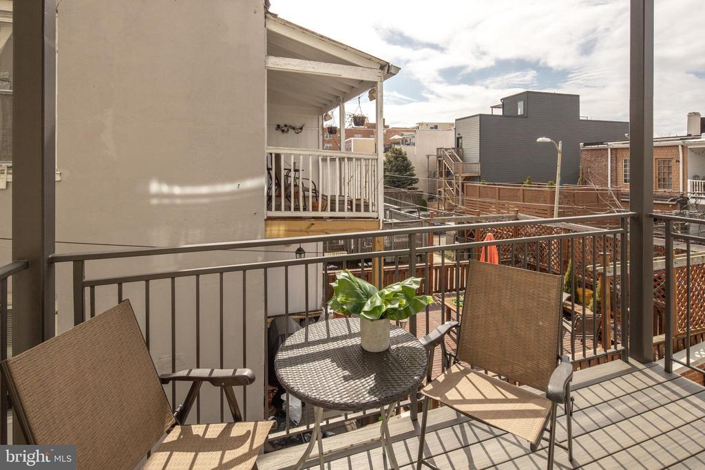Covered Balcony - 3566 13TH ST NW #5, WASHINGTON
