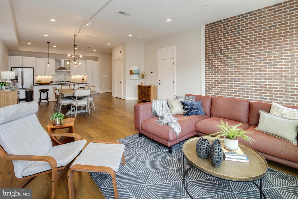 Open Floorplan - 3566 13TH ST NW #5, WASHINGTON