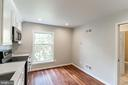 Eat-In Area in the Kitchen - 10927 WICKSHIRE WAY #K-3, ROCKVILLE