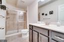 Bathroom 3 with Glass Shower Door - 3499 EAGLE RIDGE DR, WOODBRIDGE