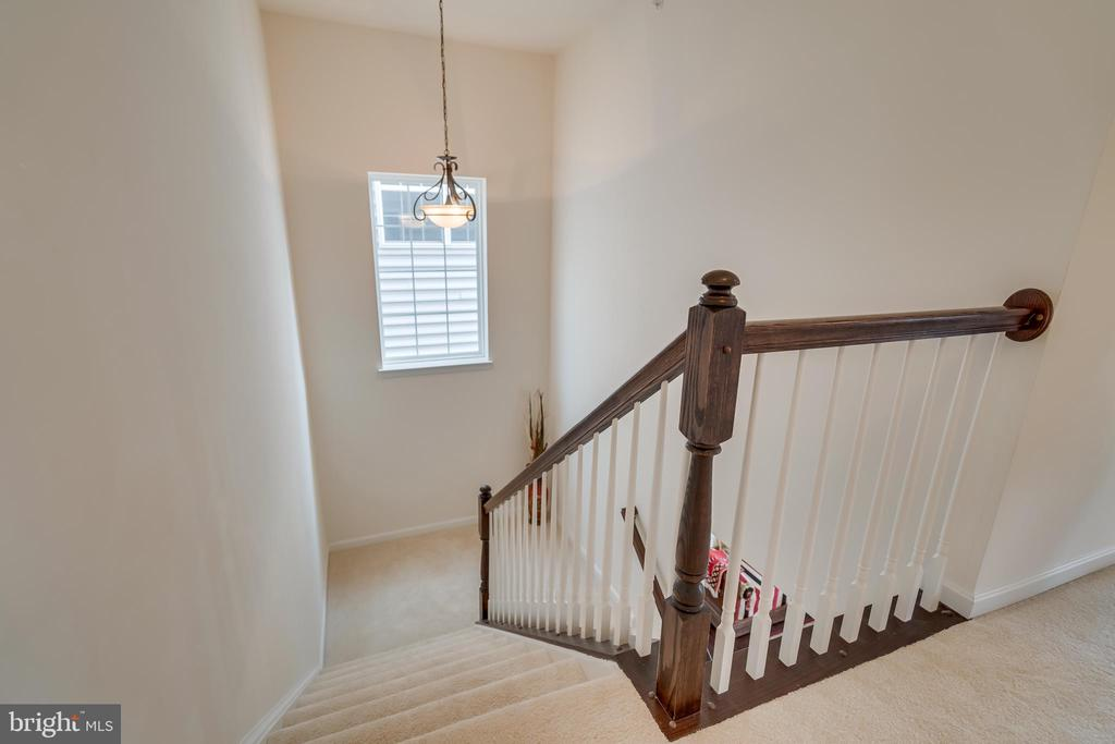 Stairs From Upper Level - 3499 EAGLE RIDGE DR, WOODBRIDGE