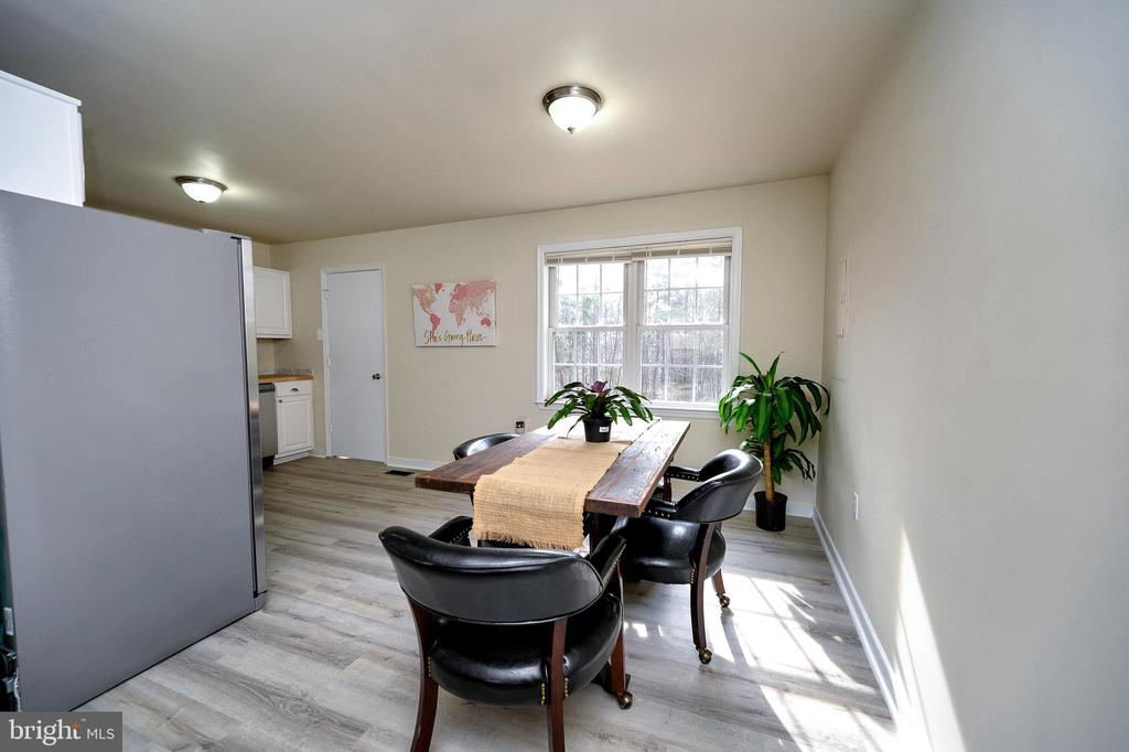 Dining open to Living and Kitchen Area - 61 LITTLE FOREST CHURCH RD, STAFFORD