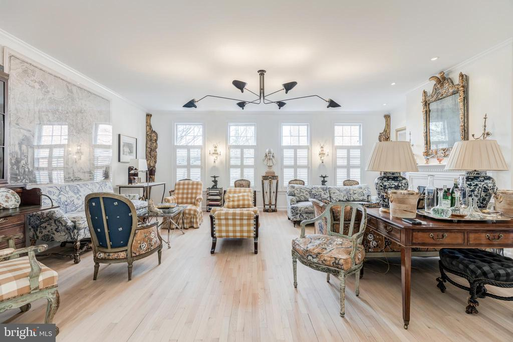 Second Level Living Room - 1820 KALORAMA SQ NW #25, WASHINGTON