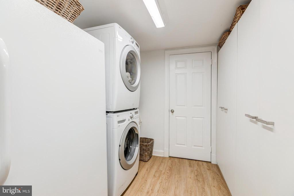 Laundry Area - 1820 KALORAMA SQ NW #25, WASHINGTON