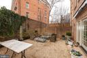 Private Garden - 1820 KALORAMA SQ NW #25, WASHINGTON