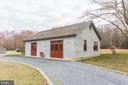 garage converted to office and work shop - 1634 HOLLY BEACH FARM RD, ANNAPOLIS